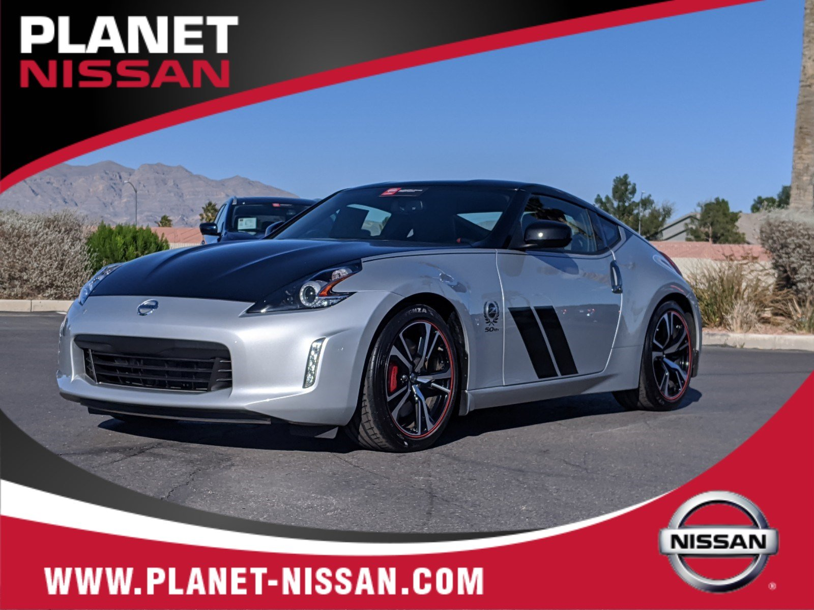 Certified Pre-Owned 2020 Nissan 370Z Coupe Sport 50TH Anniversary PKG